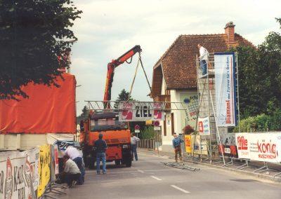 Wieselburg Vorbereitung 1998 1