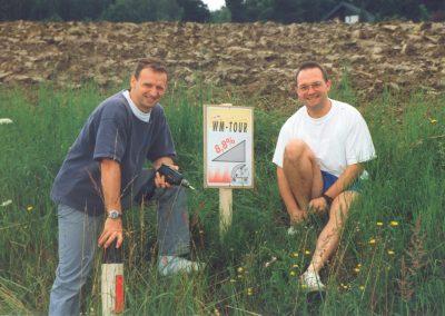 Wieselburg Vorbereitung 1998 3