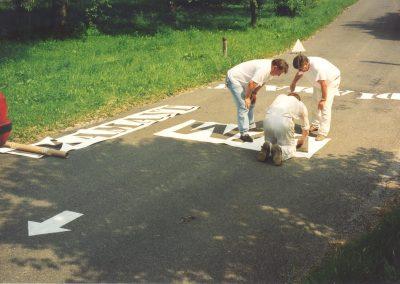 Wieselburg Vorbereitung 1998 4